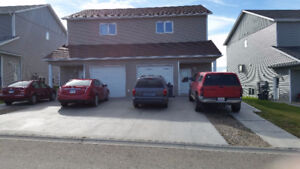 3 bedroom home with heated garage  available Oct.1