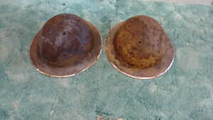 Antique WW 1  Army Helmets for sale