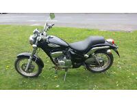 Gilera Cougar Custom 125 Learner PX swap UK Delivery