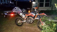 2008 KTM in mint condition  must go
