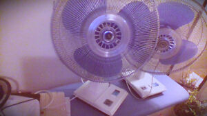 Table fans- 2, blue in Calgary (ignore toronto sys problem)