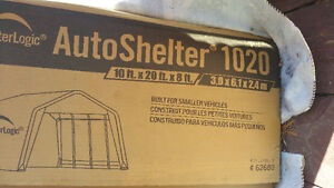 NEW AUTO SHELTER  10 x 20 x 8 ft.