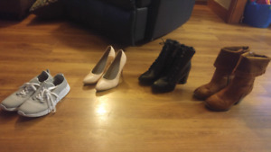 35$ 4 pair Size9 womens shoes