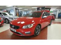 2013 Volvo V60 D2 [115] R DESIGN [Start Stop] 5dr, Sport Leather Seats, 14 Day M