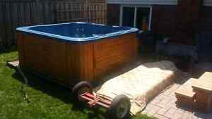Hot tub moving  15 years  experience