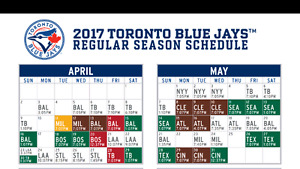 Toronto blue jays tickets 3rd baseline