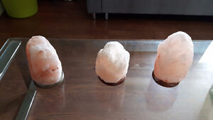 Himalayan Ionic Natural Salt Crystal Lamp (No cord)