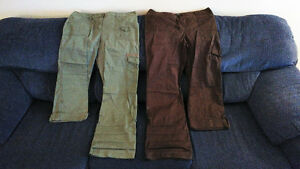 2 pairs of REITMANS cargo pants sz.14 & 15 $15 for both!!