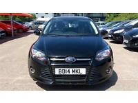2014 Ford Focus 1.0 125 EcoBoost Zetec Navigat Manual Petrol Hatchback