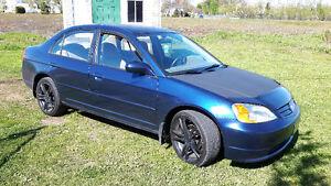 2002 Honda Civic Électrique Familiale