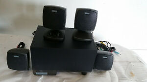 Altec Lansing Surround Sound Speaker System for Desktop