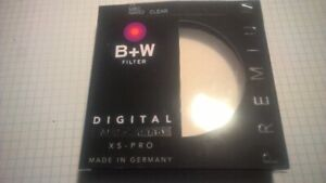 B+W 77 mm XS-PRO Clear MRC-NANO 007 foto Filter#1066111 camera