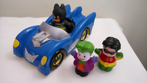 Fisher Price Little People Batmobile and Friends