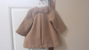 Baby fall/winter dress coat
