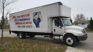 Long Distance Moves? Call Alberta Strong Movers