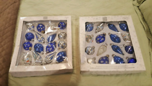 2 boxes Christmas Ornaments