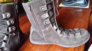 Winter chocolate brown winter boots size7 Cambridge Kitchener Area image 3