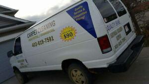 START YOUR OWN CARPET CLEANING BUSINESS- Ford E-250 Minivan, Van