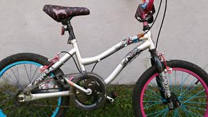 Velo enfant bicyclette fille