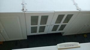 Kitchen large wall unit,also medium freezer