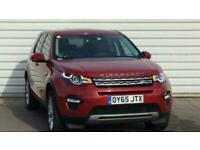 2015 Land Rover Discovery 2.0 TD4 180 HSE 5dr Auto FourByFour diesel Automatic
