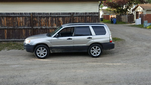 2007 Subaru forester .  Mint  condition .