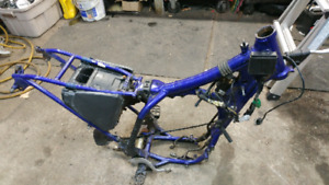 Part out yamaha 250 wrf