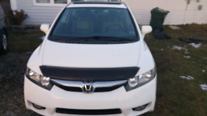 2011honda civic EX-L .leather seat.include winter tires