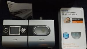 Never Used ResMed S9 CPAP + H5i heated humidifier + Gel Mask