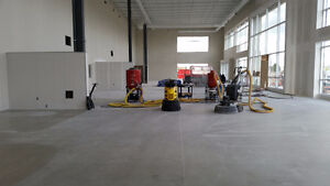 HIRING Concrete Polishing & Epoxy Flooring Helper or Tradesman