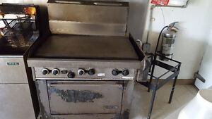 Commercial oven and grill
