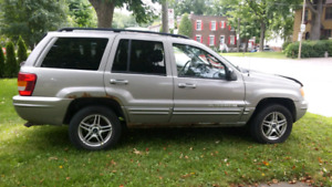 Jeep Grand Cherokee limited edition 2002