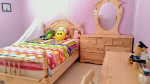Furniture set for  girl's bed room
