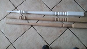 New spindles and posts
