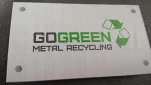 ** FREE APPLIANCE/METAL REMOVAL** Go Green Metal Recycling**