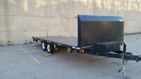 20' DeckOver, Float Trailers - Two Available