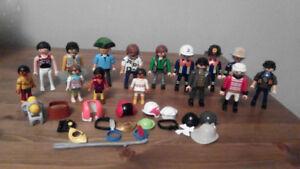 PLAYMOBIL  assorted figures  lot