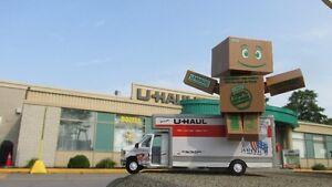storage in st-leonard/business office/truck rental/uhaul