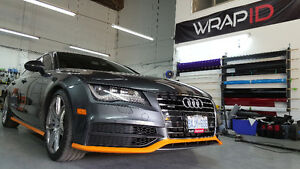 Paint Protection Film: 3M Pro series and Suntek Clear