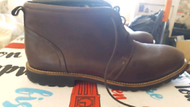Rockport genuine leather boots