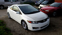 2009 Honda Civic SI VTEC Coupe 6 Speed Certified