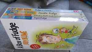 Brand New Wrapped Judy Blume Fudge Books Boxed Set