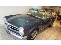 1967 Mercedes-Benz 250sl W113 Pagoda Hardtop & soft top
