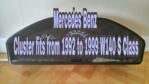 Benz S320 w140 S class 1992/1999 Cluster !
