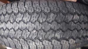 Goodyear wrangler tires 2.    265/65r17