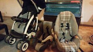 Baby Transportation items: Stroller/Carriage,Snugglie,Baby Seats