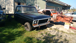 1979 Ford F150 pickup project