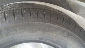 Only used one season winter tires for sale
