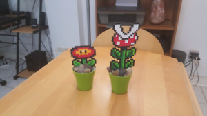 Mario fire flower plant piranha