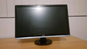 24 inch Dell Full HD 1920x1080p Monitor PC HDMI